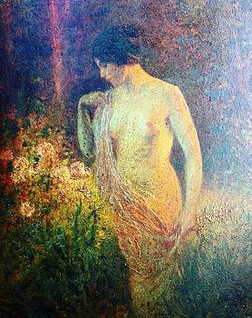 Nude in the Forest by Henry Goode