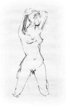 Irina Sztukowski - Nude Model Gesture VII