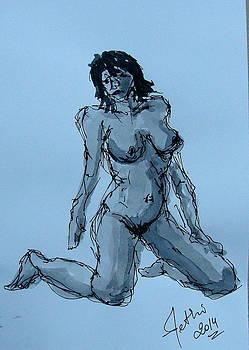 Nude Posing-3 by Fethi Canbaz
