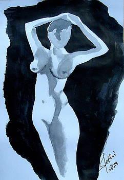 Nude Posing by Fethi Canbaz