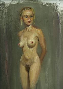 Nude Study Of Hillary by Robert H Sibold