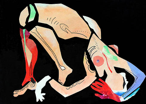 Diane Fine - Nude With Red Glove
