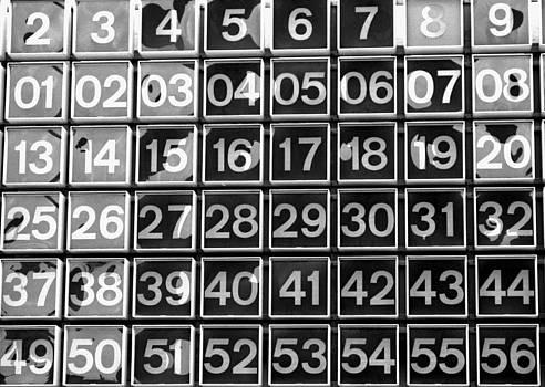 Numbers by Steven Huszar