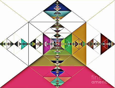 Numinous Triangles II by Tatjana Popovska