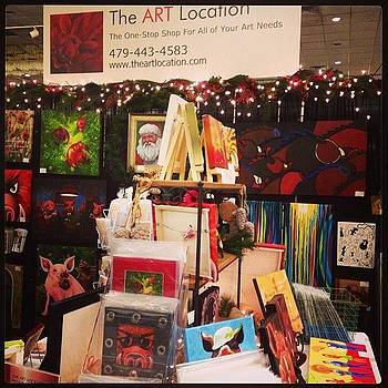 Nwa Boutique Show Booth This Weekend! by Nadine Rippelmeyer