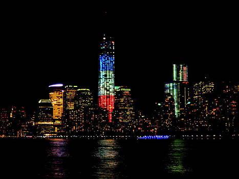 NY Lights by Scott Schlaff