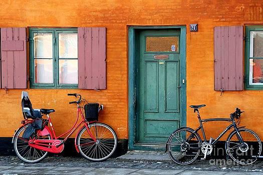 Nyboder in Copenhagen by Torben Boejstrup