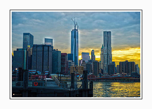 NYC at Sunset by Andre Boykin