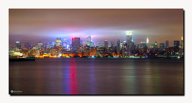 NYC in the Fog by Andre Boykin