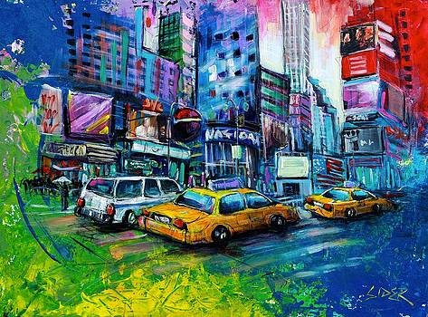 NYC - Time Square by Nick Sider
