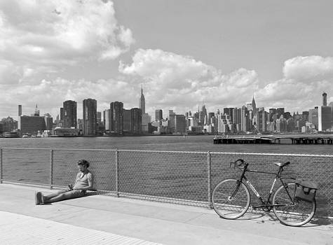 Nina Bradica - NYC Skyline by the East River-2