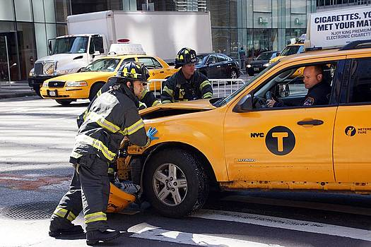 Nyfd At Work by Thomas Fouch