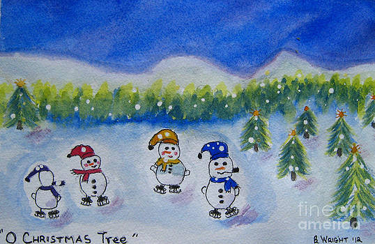 O Christmas Tree by Bonnie Wright