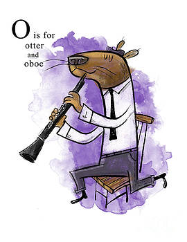 O is for Otter by Sean Hagan