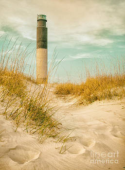Oak Island Lighthouse by Vicki Kohler