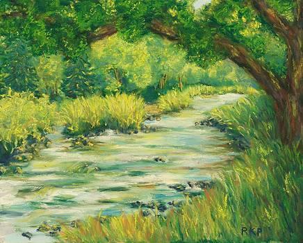 Oak Over the River - Scotland by Rebecca Prough