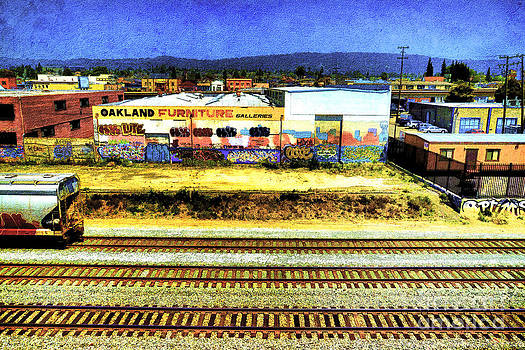 Oakland Railroad by Benny Ventura