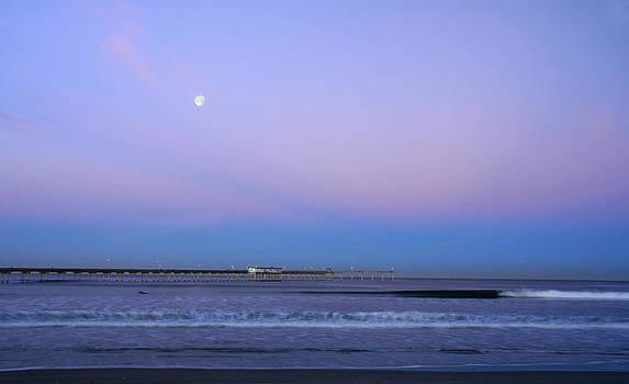 OB Pier Winter Dawn by Scott Cunningham