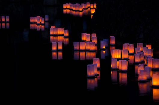 Obon 2 Japanese Lantern Festival by Kelly Anderson