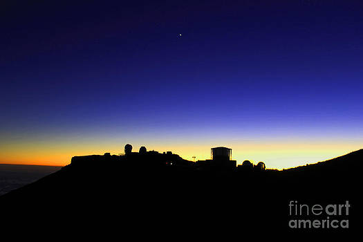Observatories at Dusk by Jeff Sommerfield