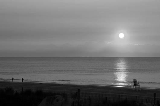 Carolyn Stagger Cokley - OC Beachscape 3297 bw