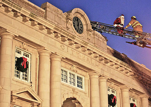 Ocean City Fireman Rescues Santa by Lisa Merman Bender