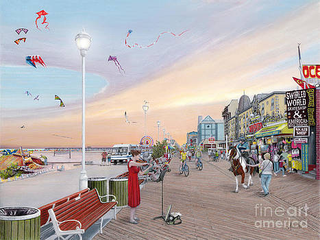 Ocean City Maryland by Albert Puskaric