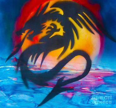 Ocean dragon by William  Dorsett