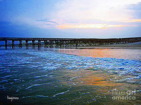 Ocean Looking Back by Lisa Jones