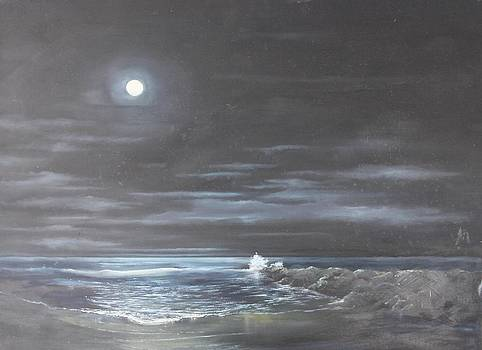 Ocean Moon by Ken Ahlering