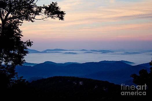 Ocean of Clouds by Tom Carriker