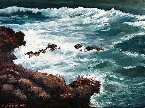 Ocean Rocks  by Boris Garibyan