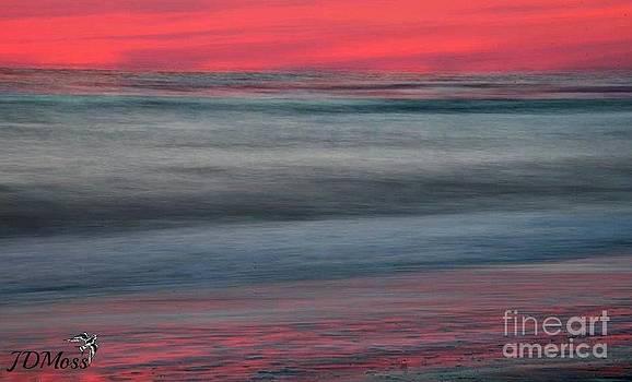 Ocean Smear by Janet Moss