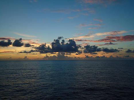 Ocean Sunset by Jennifer Kelly
