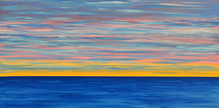 Bishopston Fine Art - Ocean Sunset