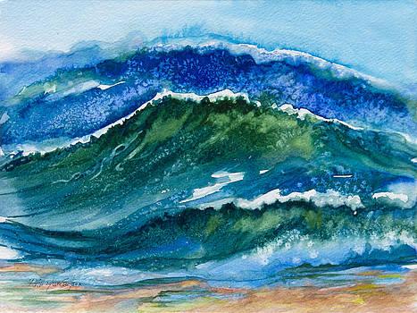 Ocean Waves by Patricia Allingham Carlson