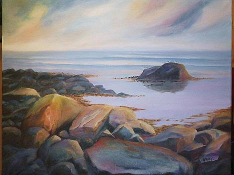Oceans morning by Anne Marie Spears