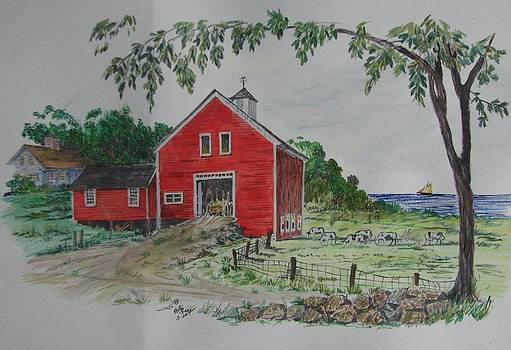 Oceanside Farm by Michael Race