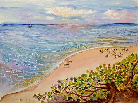 Oceanside Sea Grapes by Jane Ricker