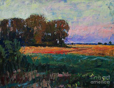 October Evening by Brian Mahieu