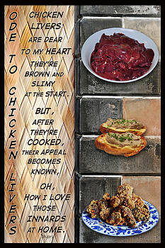 Ode to Chicken Livers by Paula Ayers