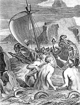Photo Researchers - Odysseus Escapes Charms Of The Sirens
