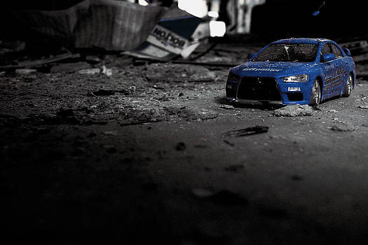 Off Road Rally Blue by Anthony Bean