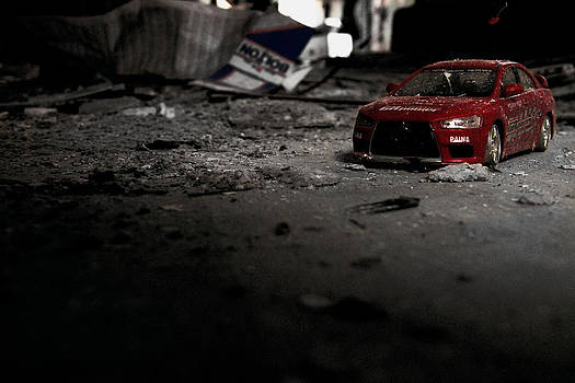 Off Road Rally Red by Anthony Bean