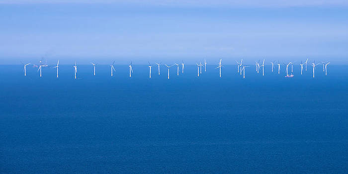 Off-Shore Wind Farm by Jane McIlroy