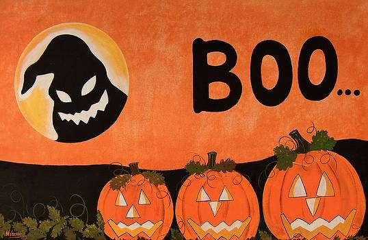 Oggie Boogie Boo and Pumpkin Patch by Cindy Micklos