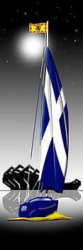 Oh Flower of Scotland by Peter Stevenson