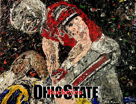 Ohio State Buckeyes  by Mark Moore