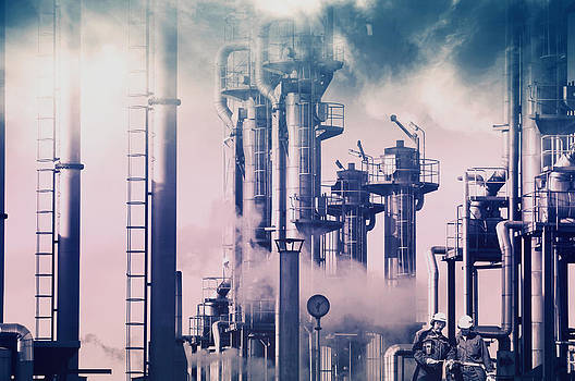 Oil And Gas Refinery Industry by Christian Lagereek