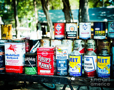 Sonja Quintero - Oil Cans of Old